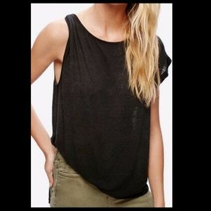 We the free Pluto one shoulder tee SM